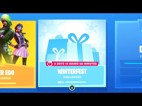 Fortnite All 'Winterfest' Challenges Guide - Chapter 2 Season 1