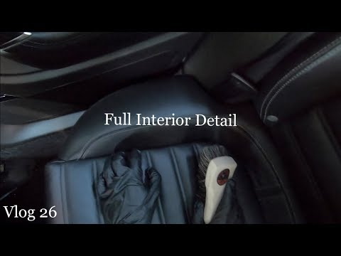 How To Clean and Detail Leather Interior!