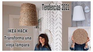 DIY IKEA HACK / Transforma una vieja lámpara en una lámpara de tendencia / IKEA