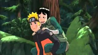Hilarious Rock Lee moment (From the first Naruto Shippuden Movie)