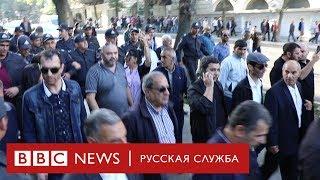 Демонстрация в Баку: задержания на разрешенной акции