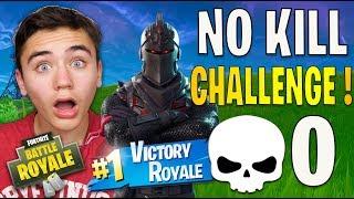 NO KILL CHALLENGE - TOP 1 = 0 KILL - FORTNITE BATTLE ROYALE - Néo The One