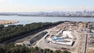 【東京2020大会】カヌー・スラロームセンター タイムラプス映像