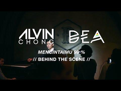 Dea & Alvin Chong - Mencintaimu 99% (Behind The Scene)