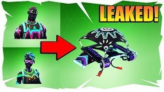 'LEAKED' NEW LITESHOW ET NITELITE SKINS - FORTNITE BATTLE ROYALE