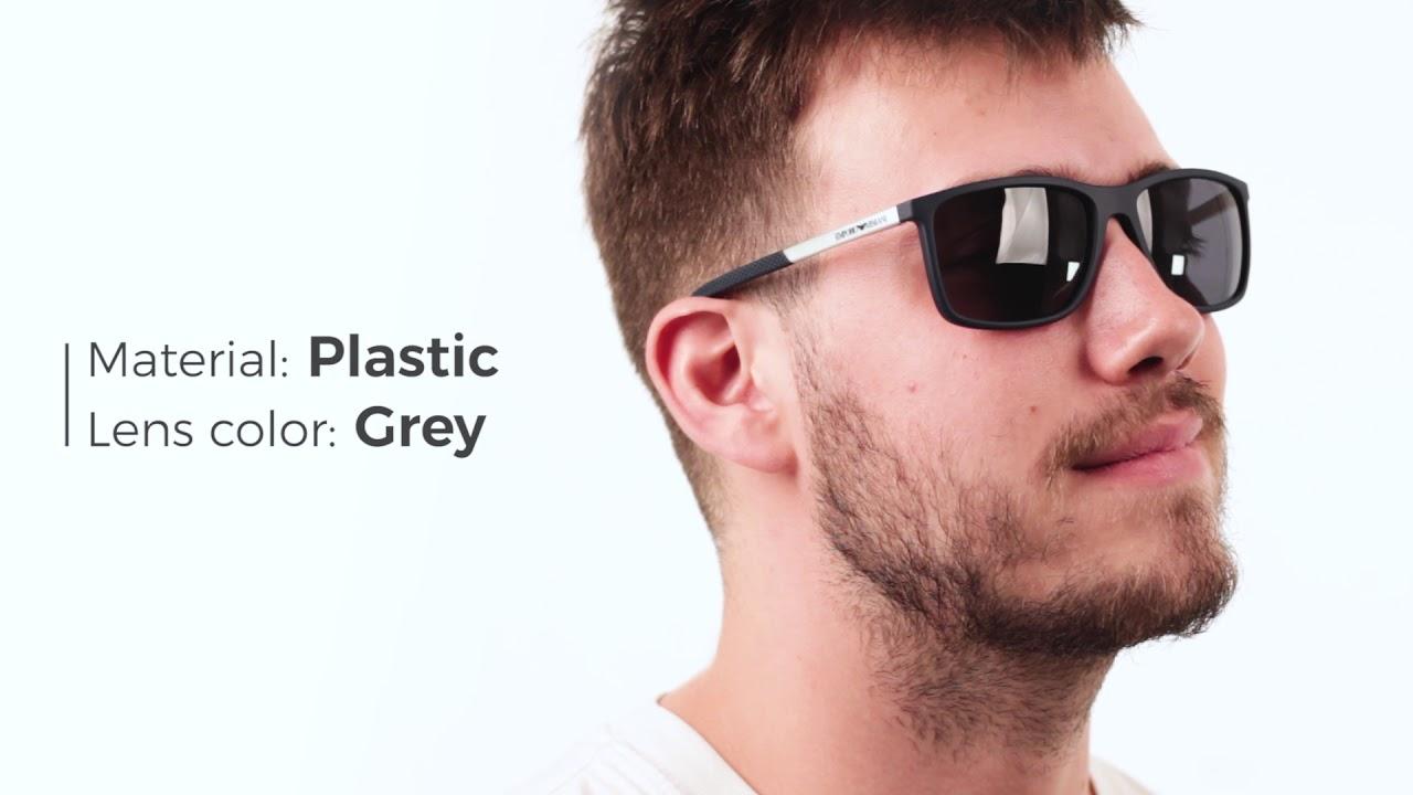 72db83702864 Emporio Armani EA4058 Sunglasses Review - YouTube