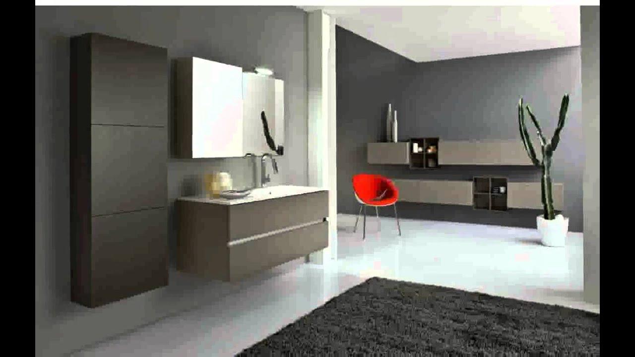 Idee per arredo bagno moderno immagini youtube for 2 br 2 piani casa bagno