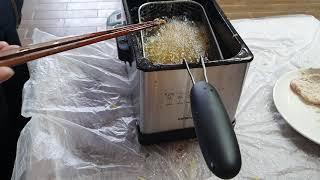 가정용 돈까스 튀김기 업소용 감자 튀김 기계 바삭 오징…