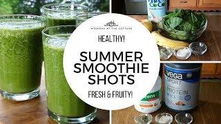 SUMMER SMOOTHIE SHOTS - 1 Minute Video