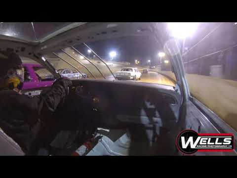 Matt Tharp In-Car / 411 Motor Speedway / Enduro Race 10-12-19