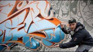 DOODLE GRAFFITI CHARACTERS concept wall feat. Biatsch in my backyard