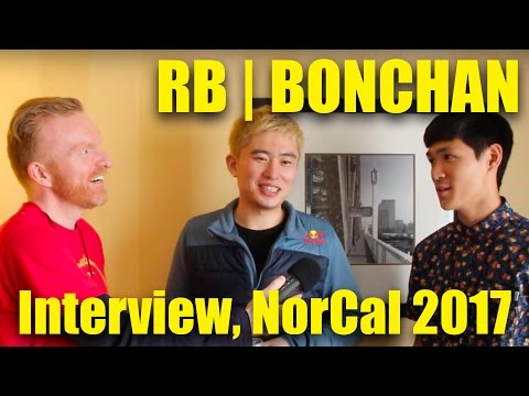 RB   BONCHAN SFV INTERVIEW (use English language timestamps below), NCR 2017