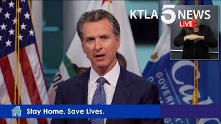 Coronavirus: CA Gov. Gavin Newsom addresses state's response to COVID-19