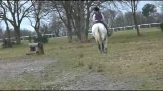 MILO XC SCHOOLING AT TWESELDOWN 2009 (3