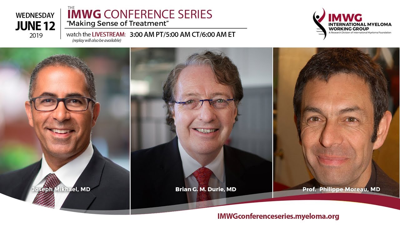 IMWG 2019 Conference Series | Int'l Myeloma Fndtn
