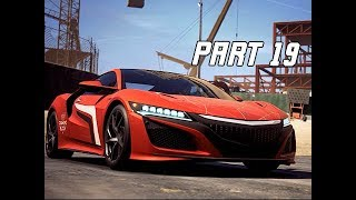 NEED FOR SPEED PAYBACK Gameplay Walkthrough Part 19 - ACURA NSX (NFS 2017)