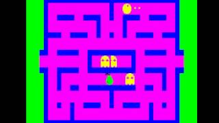 Ghost Gobbler (Pac-Man clone) for the Oric-1 and Atmos Computers