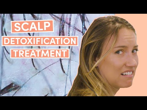 Deep Cleansing Scalp Treatment | What the Wellness | Well+Good