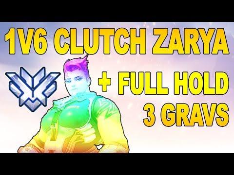 1V6 CLUTCH ZARYA + FULL HOLD 3 GRAV KINGS ROW - Season 6 SPREE