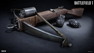 Battlefield 1 Grenade Crossbow & Leaked DLC News?