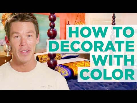 How To Decorate With Bright Colors With David Bromstad - HGTV
