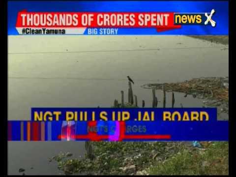 NGT lashout at Jal Board on clean yamuna