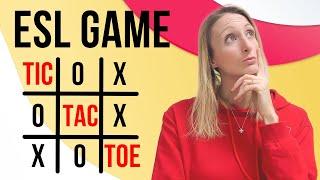 ESL Flashcard Games for Kids | Tic Tac Toe