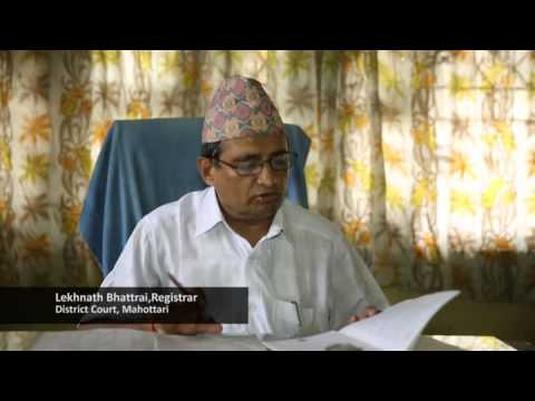 Partnership for justice in Nepal