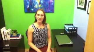 Yoga at Your Desk - Reduce shoulder tension with Kerry Maiorca of Bloom Yoga Studio