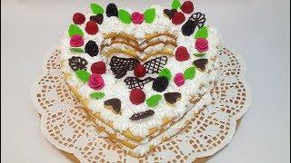 ТОРТ 'НЕЖНОЕ СЕРДЦЕ' (cake 'tender heart')