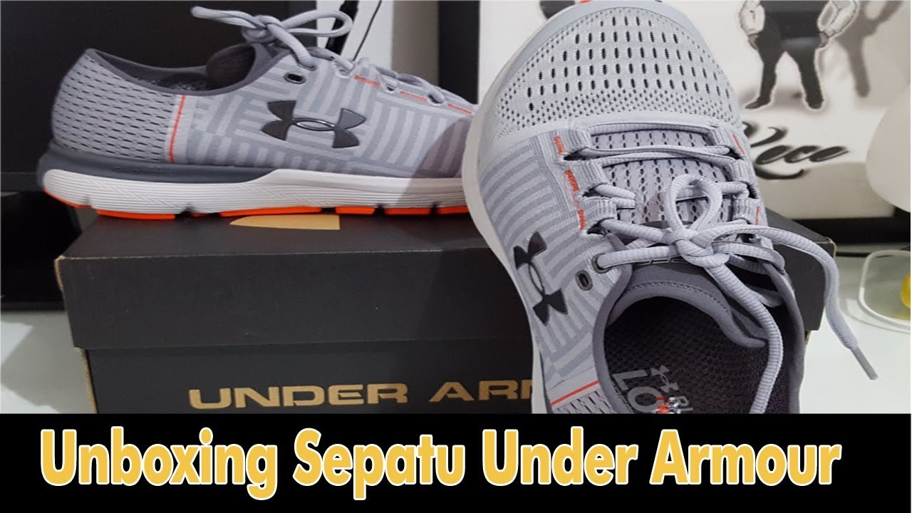 Cara cek Sepatu Under Armour asli atau palsu | Unboxing ...