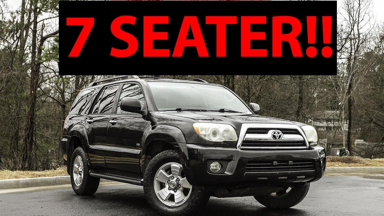 Top 7 Of The Best 7 Seater Suvs Under 10 000 Youtube