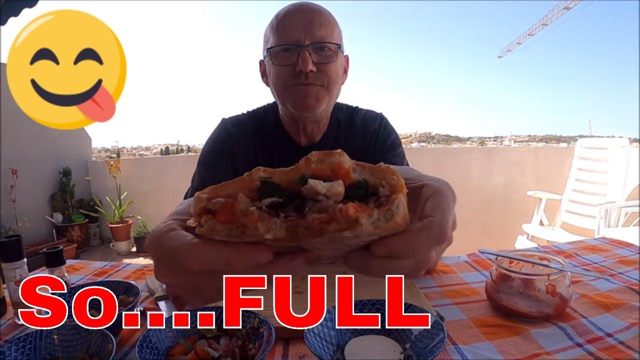 Tuna Ftira Maltese Hobz biz zejt, Open sandwich , Taste of malta