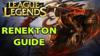 LoL Guides - Renekton Guide