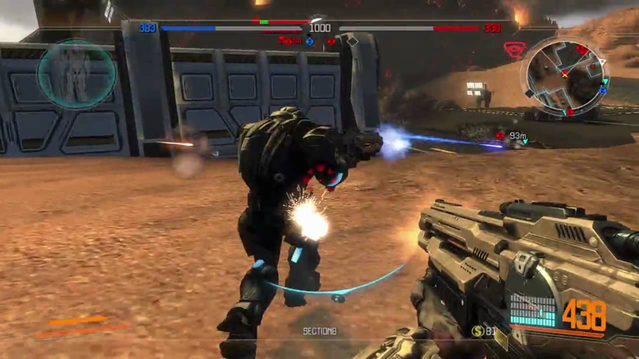 section 8 pc xbox 360 behind the scenes dynamic combat youtube