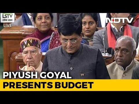 Budget 2019 - WATCH: Piyush Goyal's Full Speech In Parliament