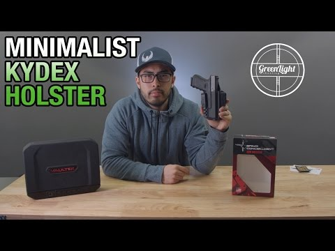 Super Slim & Innovative New Holster for Glocks