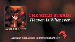 Watch Hold Steady Our Whole Lives video