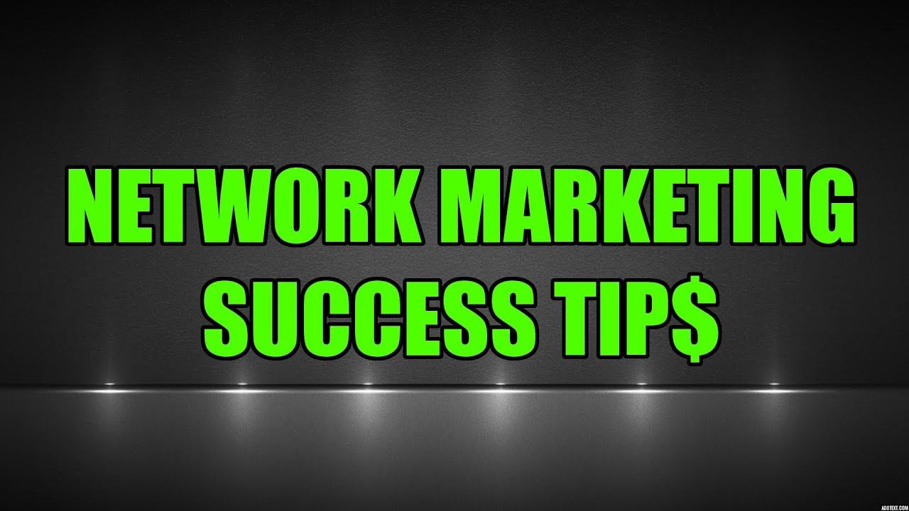 Network Marketing Success Tips Zero 36k In 6 Months