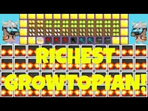 Top Richest!? World In Growtopia!!! -Growtopia Indonesian