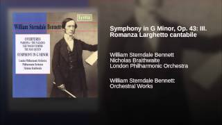 Symphony in G Minor, Op. 43: III. Romanza Larghetto cantabile