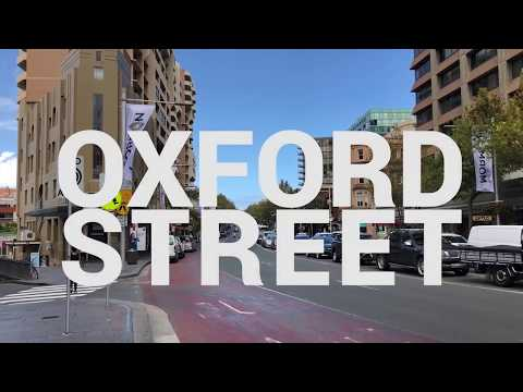 Oxford Street Sydney Observational Video