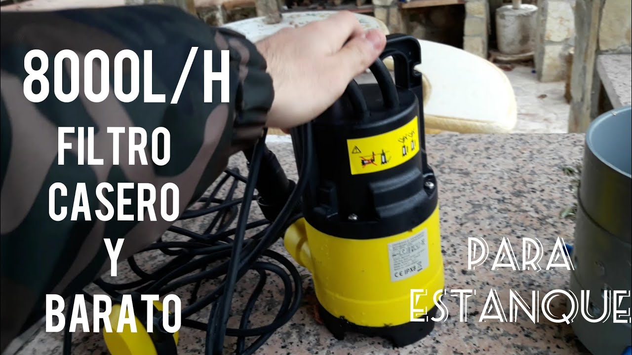 Facilisimo y casi gratis como hacer un filtro casero for Estanque prefabricado barato