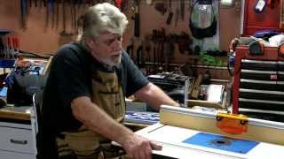 Router Table Dust Control And Small Woodshop Organization