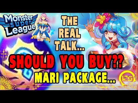 Monster Super League!! SHOULD YOU BUY MARI PACKAGE??!! THE REAL TALK!! CONSIDERING ALL VARIABLES.. ♕