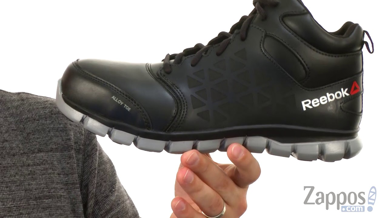 42eea2a3bc4 Reebok Work Sublite Cushion Work Mid EH SKU  9036928 - YouTube
