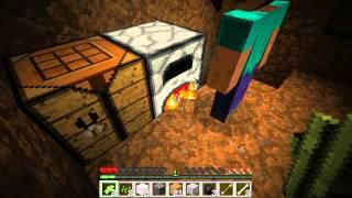 """Выживание в """"Minecraft"""".День первый- """"Землянка""""."""