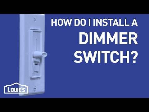 How Do I Install a Dimmer Switch? | DIY Basics