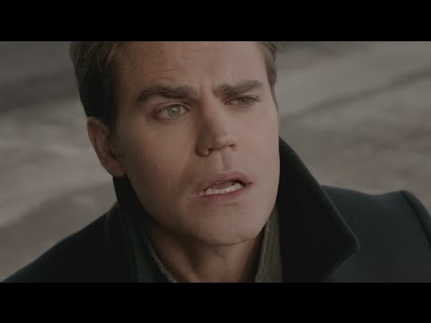 The Vampire Diaries: 7x16  Rayna kills Ste with the Phoenix Sword HD