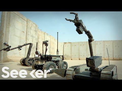 How Do Robots Dismantle Bombs?